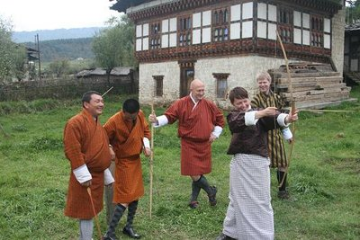 Archery in Bumthang