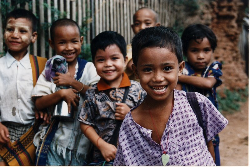 Burmese children