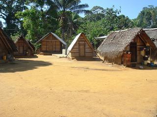 Saramaccan village