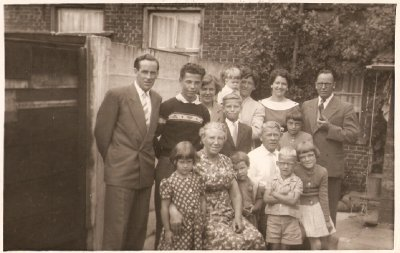 The start of my travels - I'm the little one in my aunt's arms