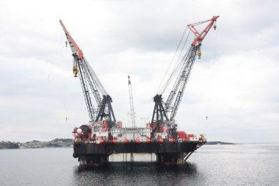 Heerema crane vessel - Stavanger