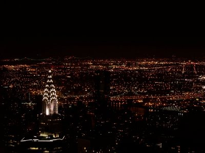 Midnight on the Empire State Building