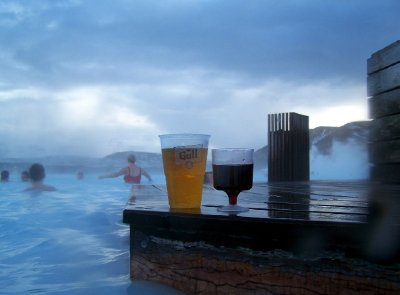 Icelandic Swim Up Bar