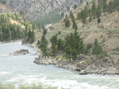 Fraser River - Fraser Canyon