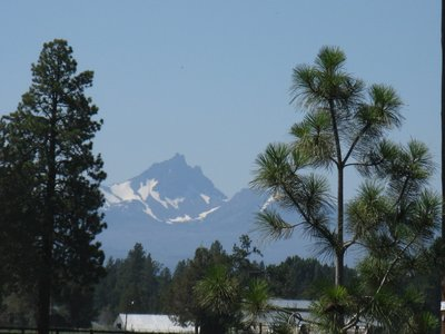 Three Fingered Jack Mountain near Sisters