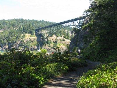 Bridge to Whidbey Island, WA