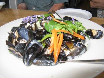 20 ozs of Penn Cove Mussels - Yummmmmm!