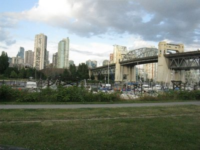 Vancouver, BC is made up of highrises, bridges and boats!