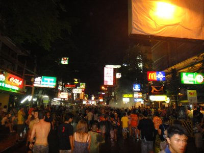 Songkran Madness in Khao San Road