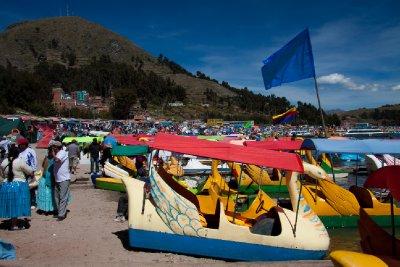 Copacabana Beach, Bolivia
