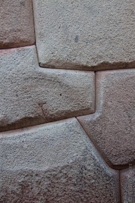 Intricate Inca Stone work
