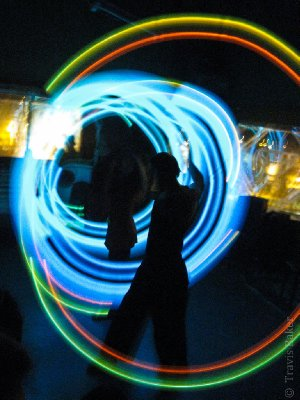 Light twirling