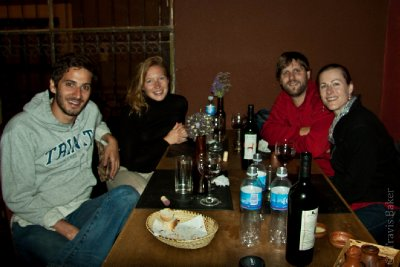 Dinner with Hugo & Emilie in Humahuaca