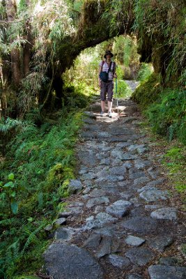 Ali on the Inca Trail