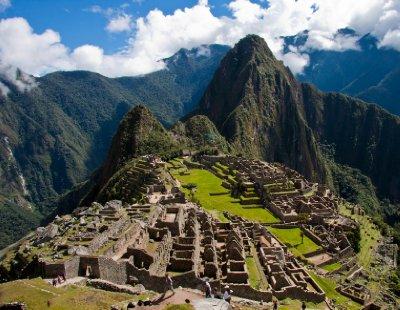 Postcard Picture of Machu Picchu