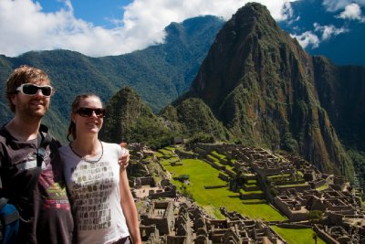 Us at Machu Picchu