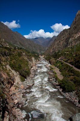 River along the Inca Trail