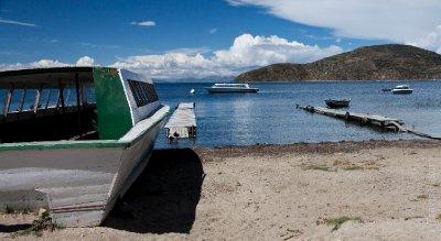 View from a beach, Isla del Sol