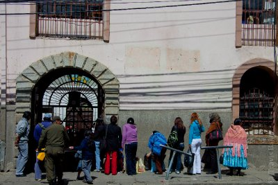 San Pedro Prison, La Paz