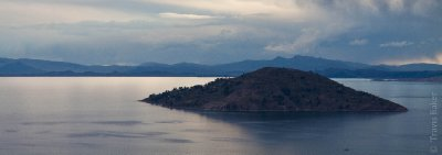 View from Pachatata, Isla Amantani