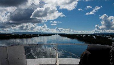 Boat to Isla Amantani