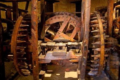 Original Minting Machinery Driven by Donkeys