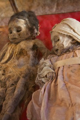 Inca Sacrafice Mummies