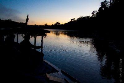 Sun Rise on the Rio Tambopato