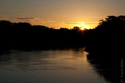 Sunset on the Rio Tambopato