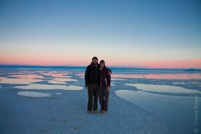 Us on the Salt Flats