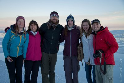 Our Amigos on the Solar de Uyuni