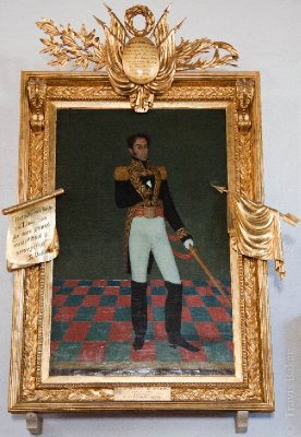 Simon Bolivar (Revolutionary General of South America and Bolivia's Namesake