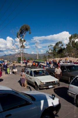 Blockade in Sucre