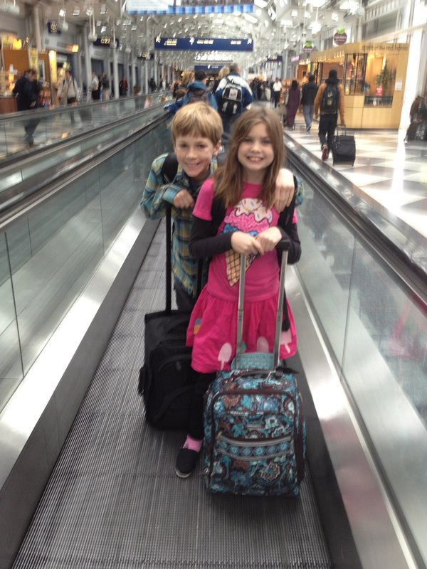 Suitcase Airport Kids