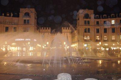 Fountain at Karlsplatz