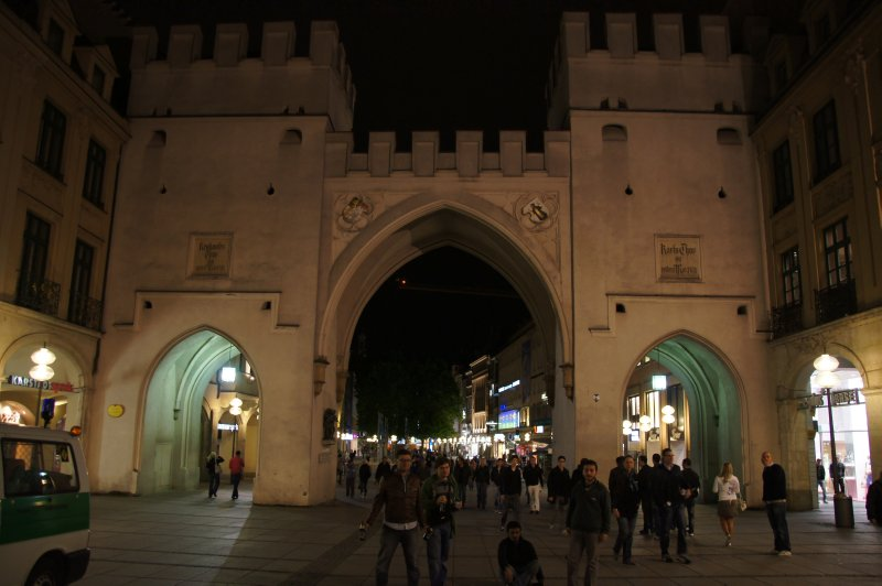 Gate at Karlsplatz