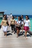 AP Team - arrival at Alila jetty 1