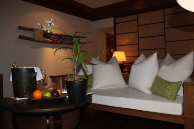 Couch and Complimentary Items_Beach Villa