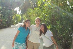 Zhilah Vego(Complex Sales Coordinator) with Isabel & Katrina(AP)