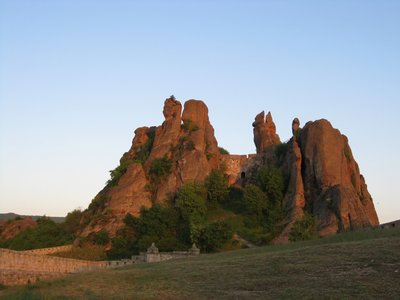 Belogradchishki Rocks in northwestern Bulgaria