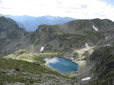 Lake in Rila Mountains