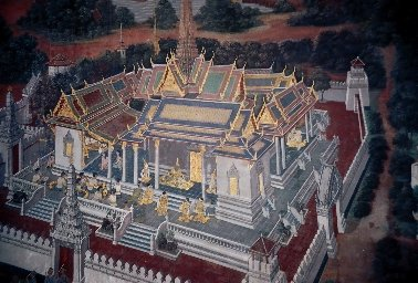 Murals in the Grand Palace