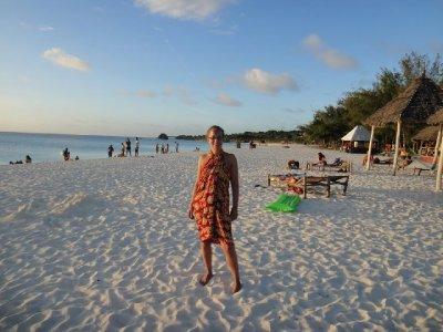 Chilling on Kendwa beach