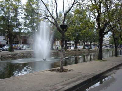 The beautiful moat!