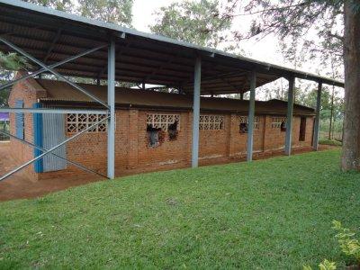 Grenaides where used to kill the tutsis, their marks still remain