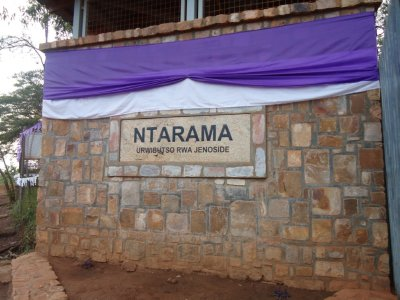 The church memorial - 5000 Tutsi's died at this location
