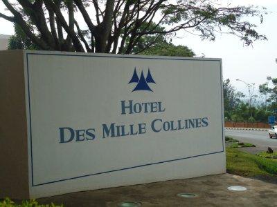 The sight of the original hotel Rwanda
