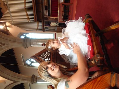 Izzy and Kat at the church <img class='img' src='http://www.travellerspoint.com/Emoticons/icon_smile.gif' width='15' height='15' alt=':)' title='' />