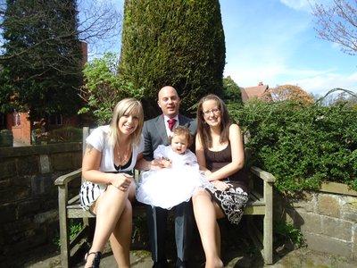 Kath, Chris, Izzy and me