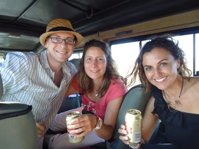 beers on safari <img class='img' src='http://www.travellerspoint.com/Emoticons/icon_smile.gif' width='15' height='15' alt=':)' title='' />)